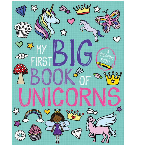 My First Big Book of Unicorns Coloring Book