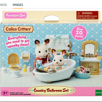 Calico Critters: Comfy Bathroom Set