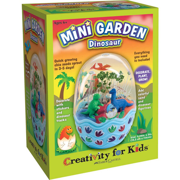 Mini Garden Kit: Dinosaur Egg Terrarium