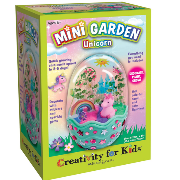 Mini Garden Kit: Unicorn Egg Terrarium