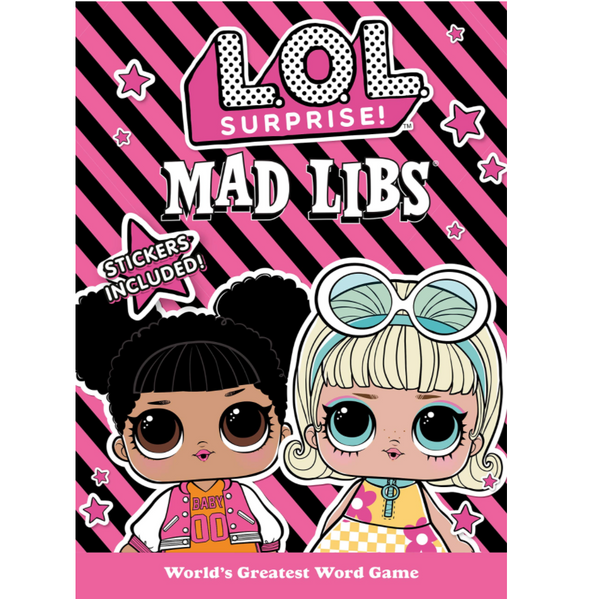 XL Mad Libs Junior: L.O.L. Surprise!