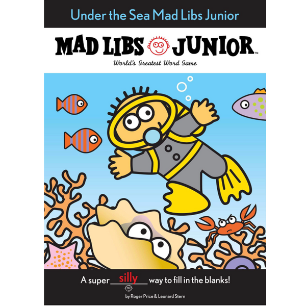 XL Mad Libs Junior: Under the Sea