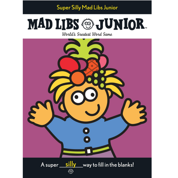 XL Mad Libs Junior: Super Silly