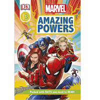 Marvel: Amazing Powers (DK Readers Level 3)