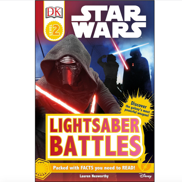 Star Wars: Lightsaber Battles (DK Readers Level 2)