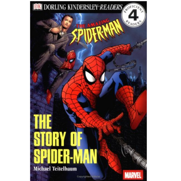 The Story of Spiderman (DK Readers Level 4)