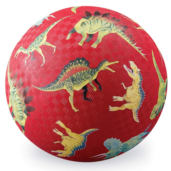 "5"" Playground Ball: Dinosaur, Red"