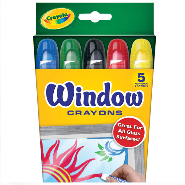 Window Crayon, Set of 5