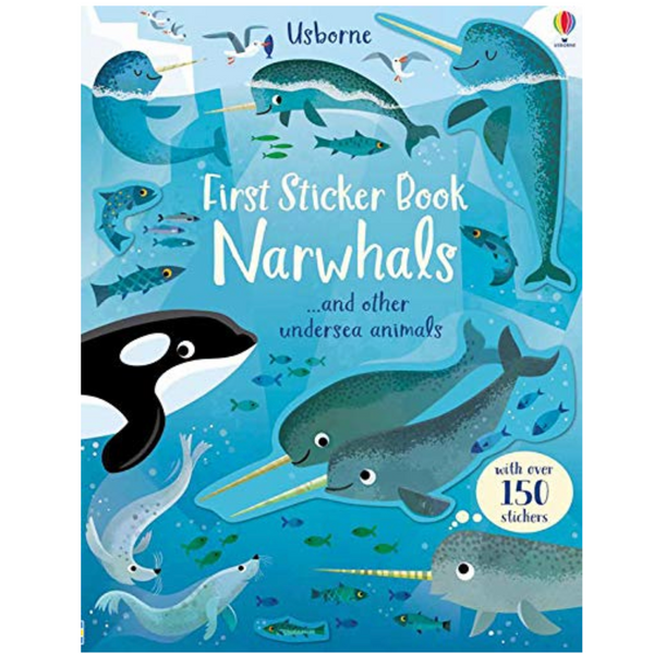 First Sticker Book: Narwhals
