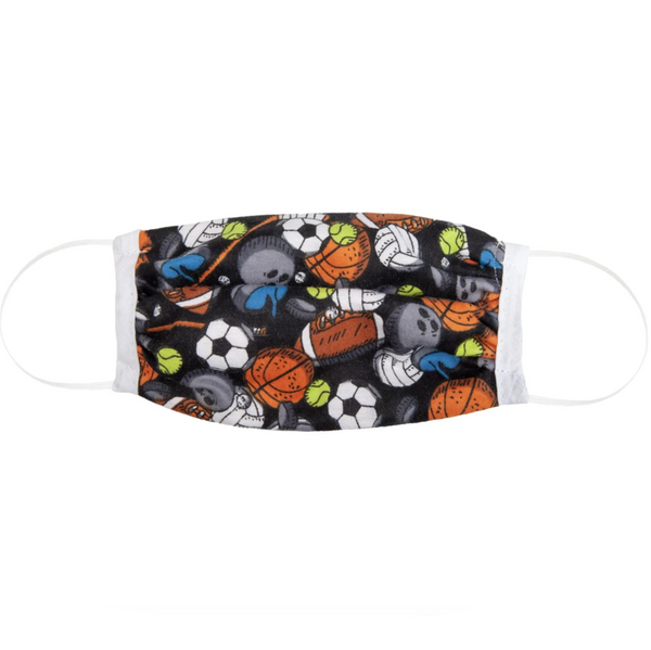 Kid's Cotton Face Mask: Sports
