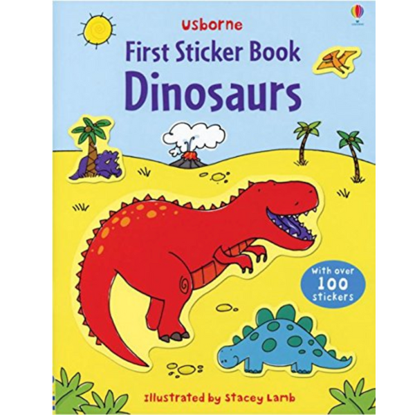 First Sticker Book: Dinosaurs