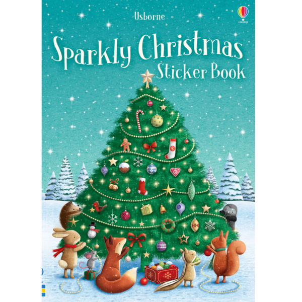 Little Stickers Book: Sparkle Christmas