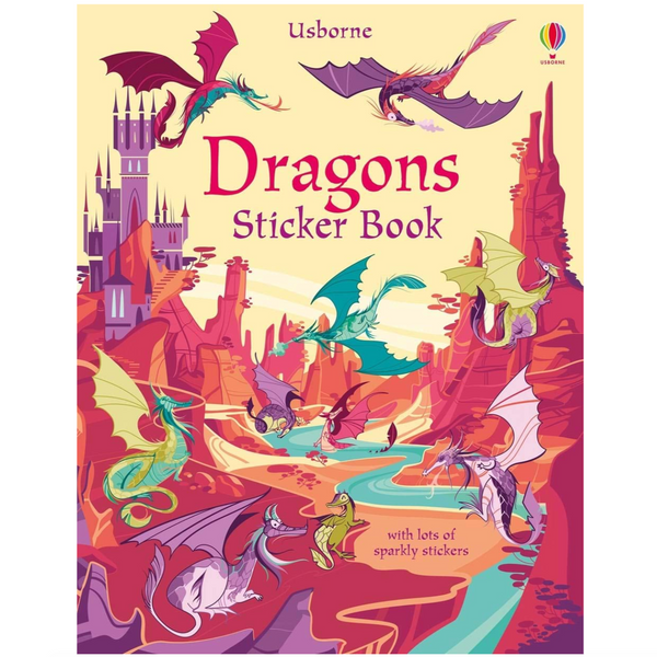 Sticker Book: Dragons