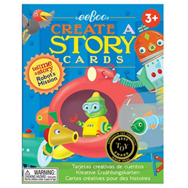 Create and Tell Me A Story Cards: Robot Mission