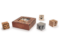 Wooden Cubelings: Safari