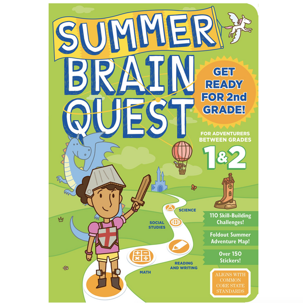 Summer Brainquest Workbook: Between Grades 1 & 2