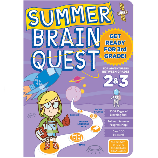 Summer Brainquest Workbook: Between Grades 2 & 3
