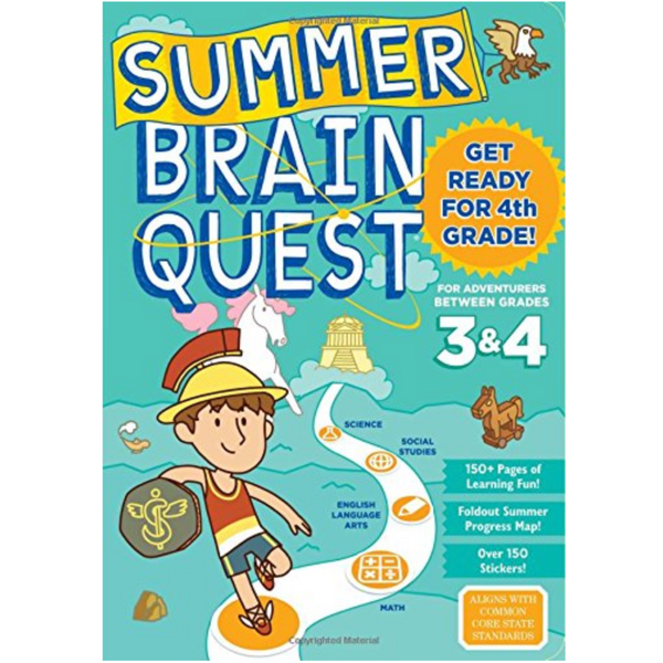 Summer Brainquest Workbook: Between Grades 3 & 4