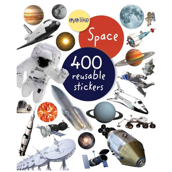 Eyelike Reusable Stickers: Space