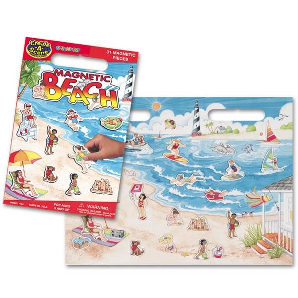Create-A-Scene Magnetic Playset: Beach