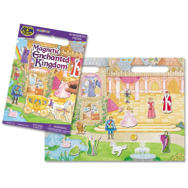 Create-A-Scene Magnetic Playset: Enchanted Kingdom
