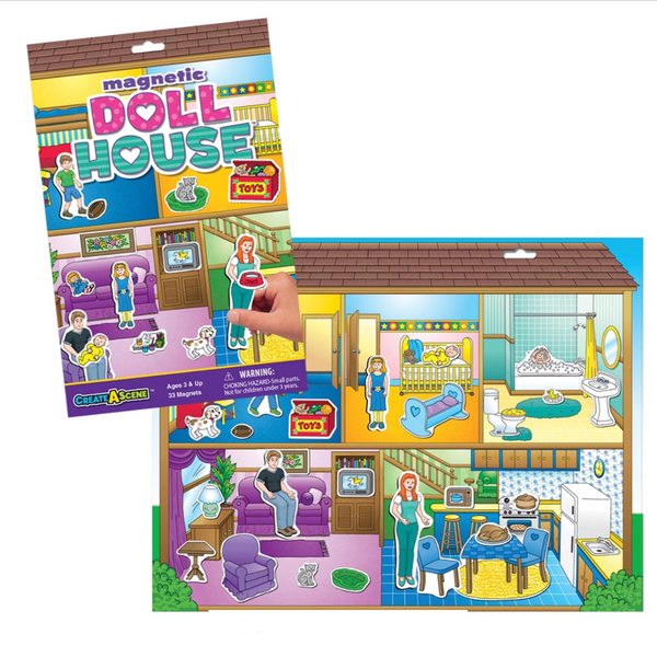 Create-A-Scene Magnetic Playset: Doll House