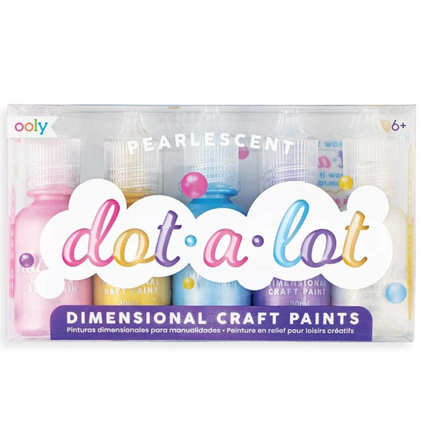 Dot-a-Lot Dot Pearlescent Painting Set, Set of 5