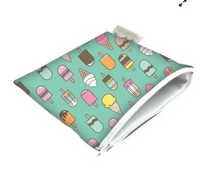 Snack Happens Reusable Snack Bags, Large (Multiple Styles)