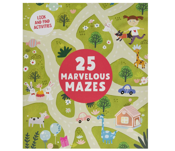 Marvelous Mazes: Level 1