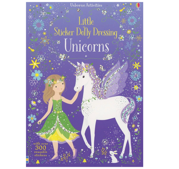 Dolly Dressing: Unicorns (Sticker Paper Dolls)