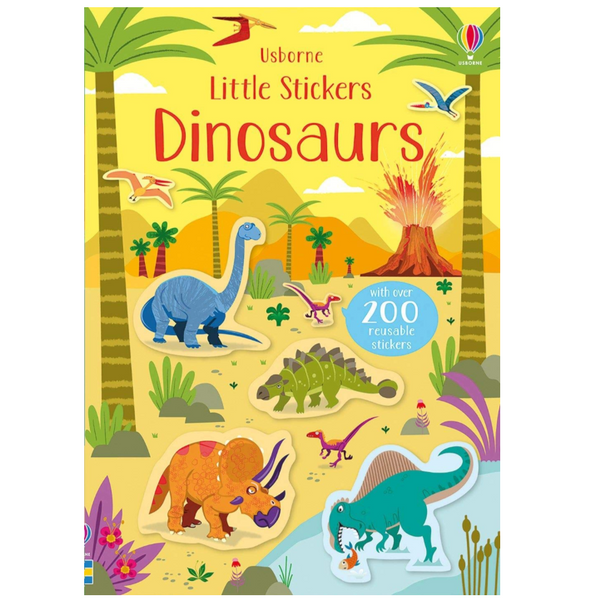 Little Stickers: Dinosaurs
