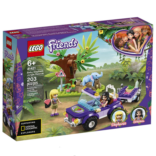 Lego Friends: Baby Elephant Jungle Rescue