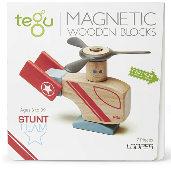 Tegu Magnetic Wooden Blocks: Looper