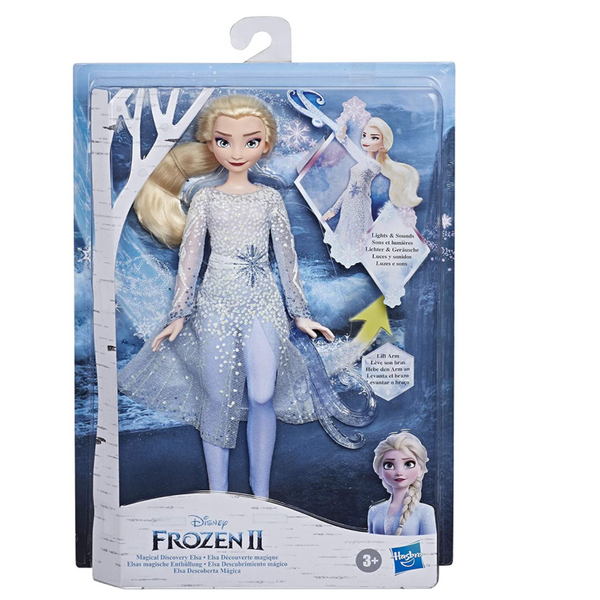 Frozen 2: Elsa Doll w/ Lights and Sounds