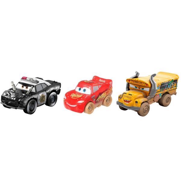 Cars: Mini Derby Mud Racers, Set of 3