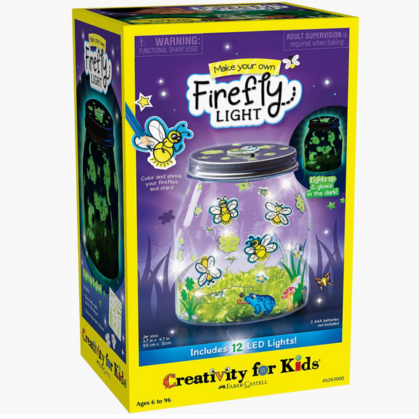 Make Your Own: Water Firefly Light