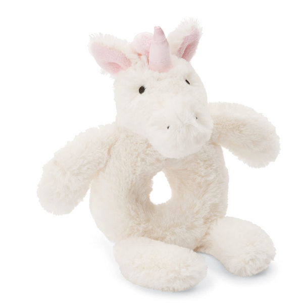 Bashful Ring Rattle, Unicorn