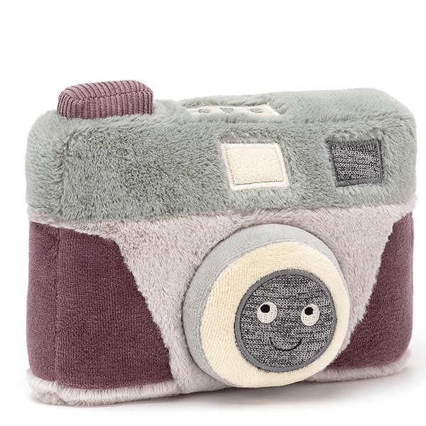 Jellycat Wiggedy Camera (With Camera Click)