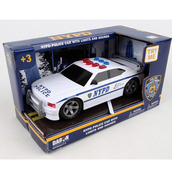 NYPD Police Car (with Lights & Sounds)