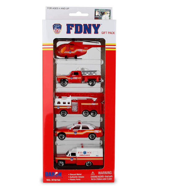 FDNY Die Cast Vehicle Gift Set, Set of 5
