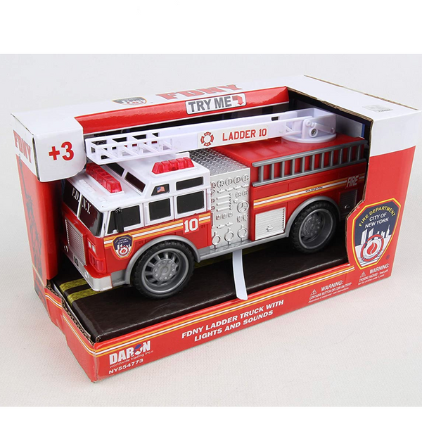 FDNY Fire Truck Car (with Lights & Sounds)