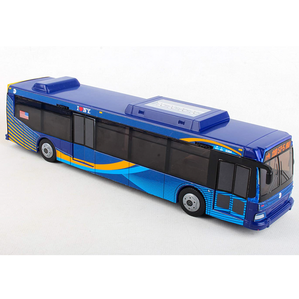 "MTA Bus 11"" Blue (Pullback)"