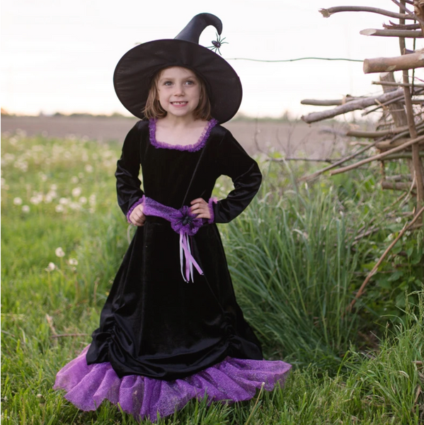Vera the Velvet Witch, Dress & Hat (Multiple Sizes)