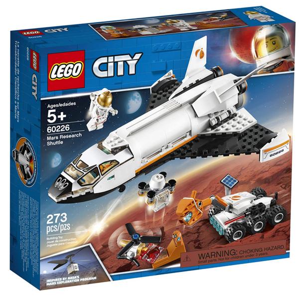 LEGO City: Mars Research Shuttle