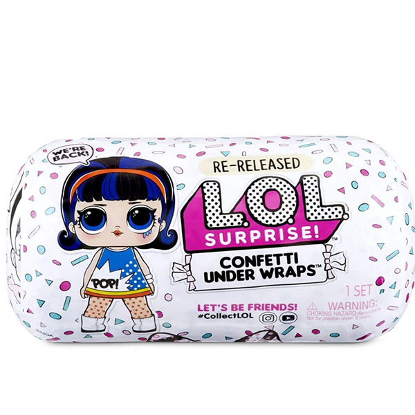 L.O.L. Surprise! Confetti Under Wraps Doll