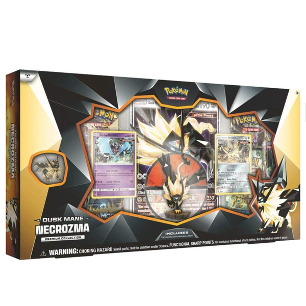 Pokemon: Necrozma Collectible Cards (Dusk Mane & Dawn Wings)