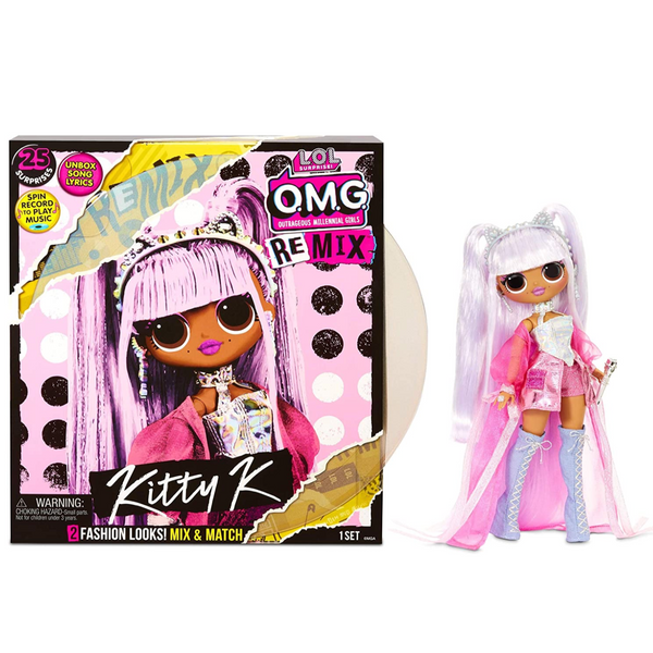 L.O.L. Surprise! O.M.G. Remix Fashion Doll (Multiple Styles)