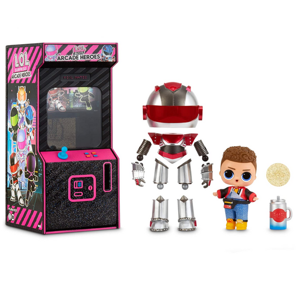 L.O.L. Surprise! Boys Arcade Doll (with 15 Surprises!)