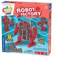 First Robot Factory: Wacky, Misfit, Rogue Robots