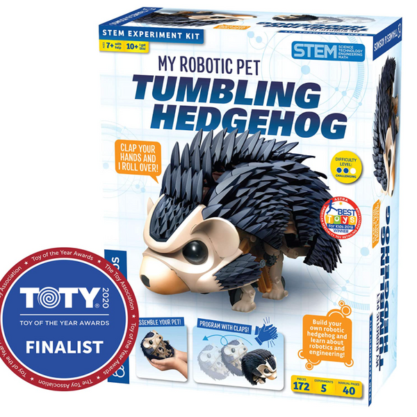 My Robotic Pet: Tumbling Hedgehog (Build Your Own Sound Activated Tumbling, Rolling, Scurrying Pet)